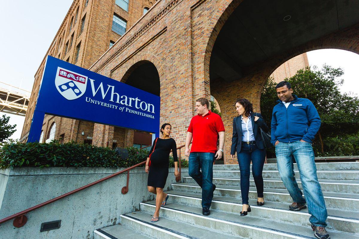 wharton business school coursework