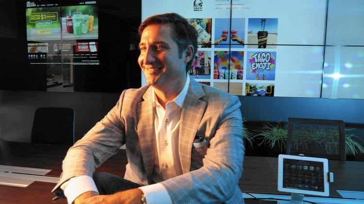 Los Angeles Times: Taco Bell CEO Brian Niccol Embraces