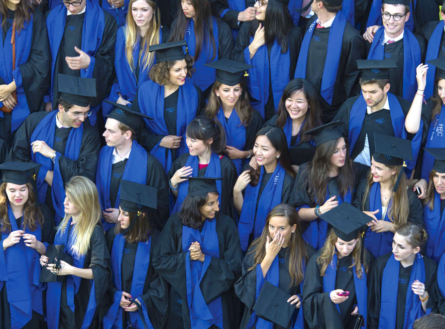 Close to 10,000 applicants for 380 places on the program, the HEC Paris MiM attracts more applicants every year to its graduate program than the Harvard MBA (Image copyright HEC Paris)