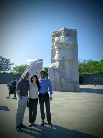 """The co-authors of """"Cannabusiness in Washington D.C."""" Pictured from left to right are Jamaur Bronner, Deena Malaeb, and Mohsin Alvi. Courtesy photo"""